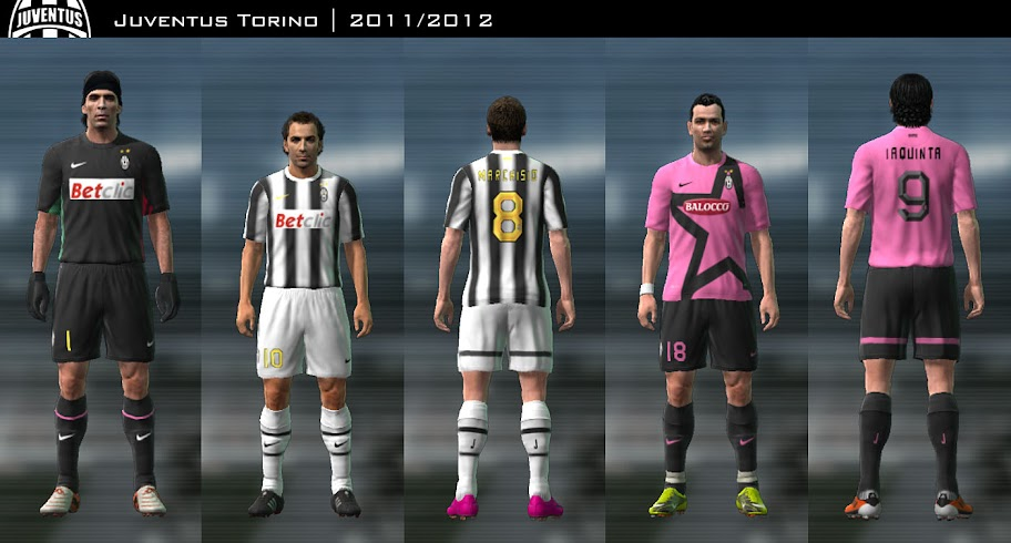 Juventus 11/12 Kit Set by Prame33