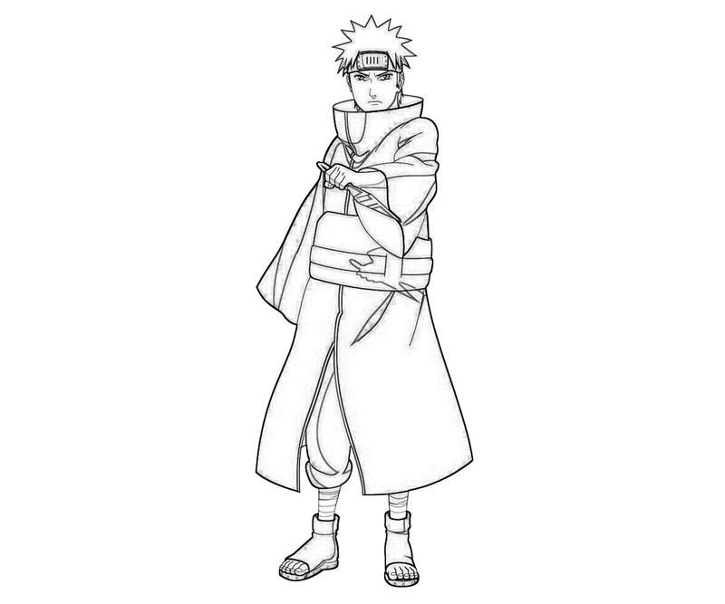 printable-naruto-yahiko-sketch_coloring-pages