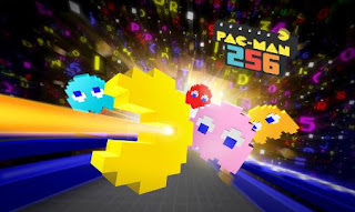 Screenshots of the Pac-Man 256: Endless maze for Android tablet, phone.