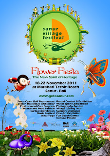 Sanur Village Festival 2011 Flyer