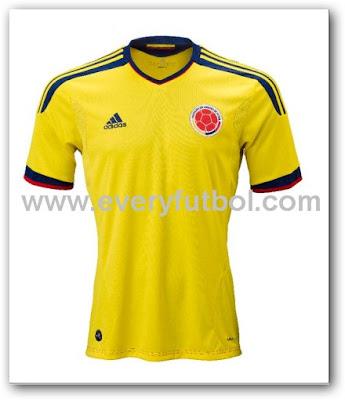Adidas Presentó La Camiseta Oficial De La Selección Colombia