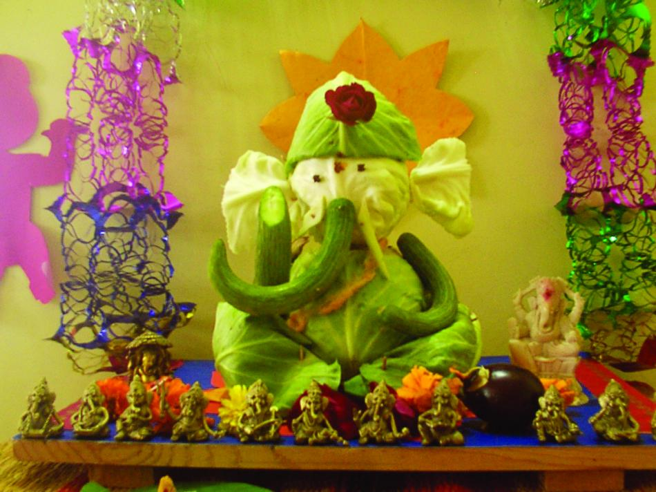 Eco Friendly Ganpati Decoration Ideas At Home Joy Studio