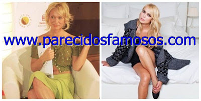 Patricia Conde antes y después