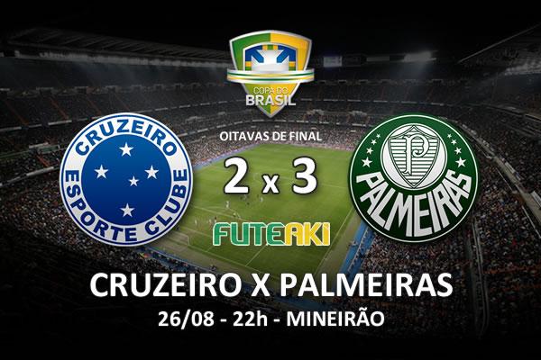 Veja o resumo da partida com os gols e os melhores momentos de Cruzeiro 2x3 Palmeiras pelas oitavas de final da Copa do Brasil 2015.