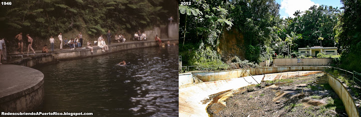 La piscina de agua natural de toro negro ayer y hoy for Piscinas toro