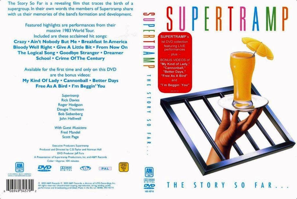 Cat logo dvd m sica supertramp the story so far for 1980 floor show dvd