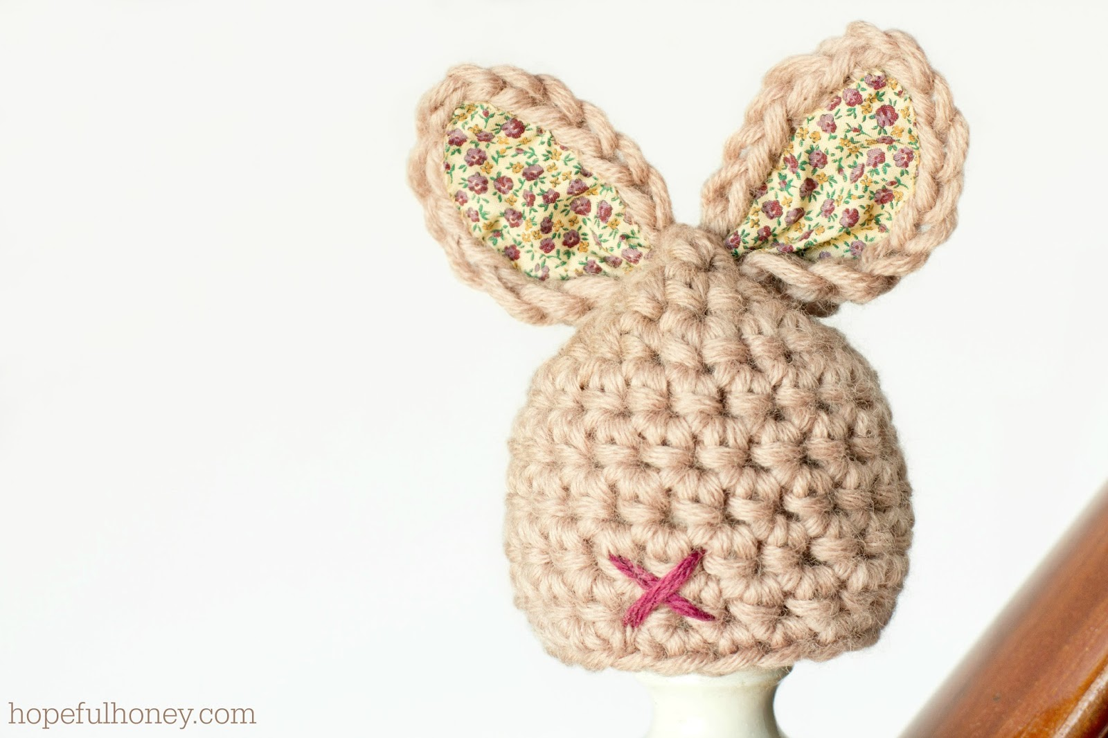 Crochet Pattern For Newborn Bunny Hat : Hopeful Honey Craft, Crochet, Create: Newborn Bunny Hat ...
