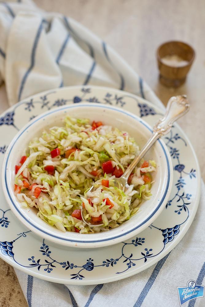 Szwedzki coleslaw