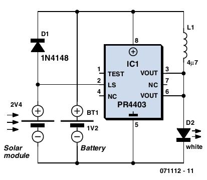 Solar Circuit Diagram