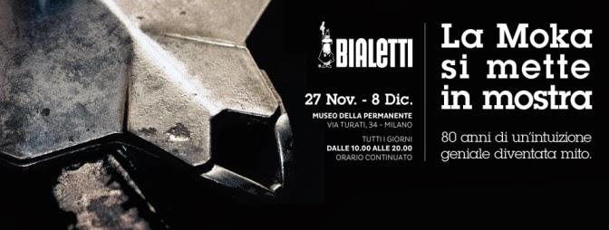 Mostre nel weekend a Milano: 80 anni di Moka Bialetti, design e caffettiere