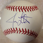 . few autographs I've actually gone and purchased of a baseball player.