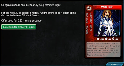 White Tiger confirmation from Superhero City