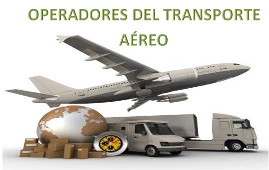 operadores del transporte aéreo internacional
