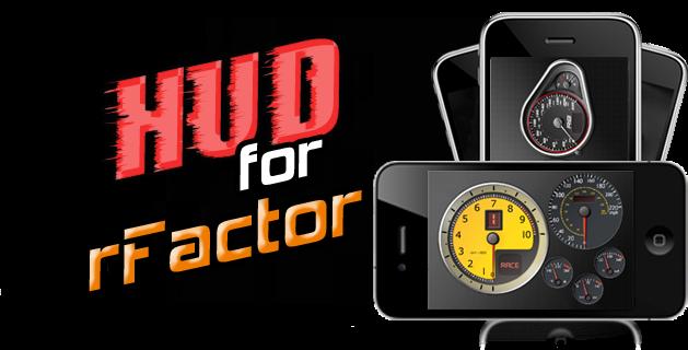 iHud 1.5 para rFactor 2 iphone
