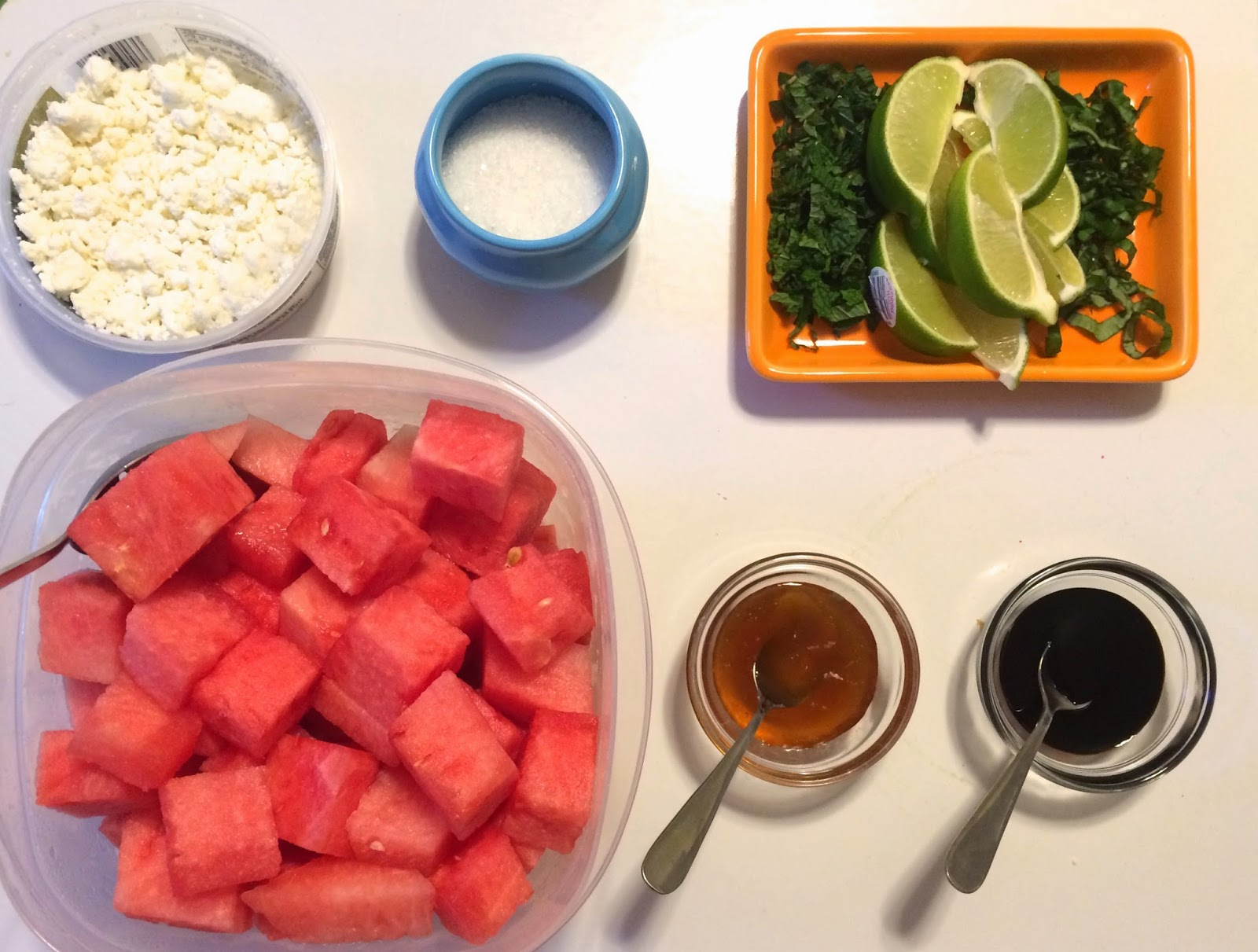 Watermelon Salad Bar