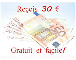 Reçois 30€ et un compte qui te rapporte de l'argent :)
