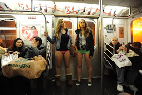 No Pants Subway Ride...