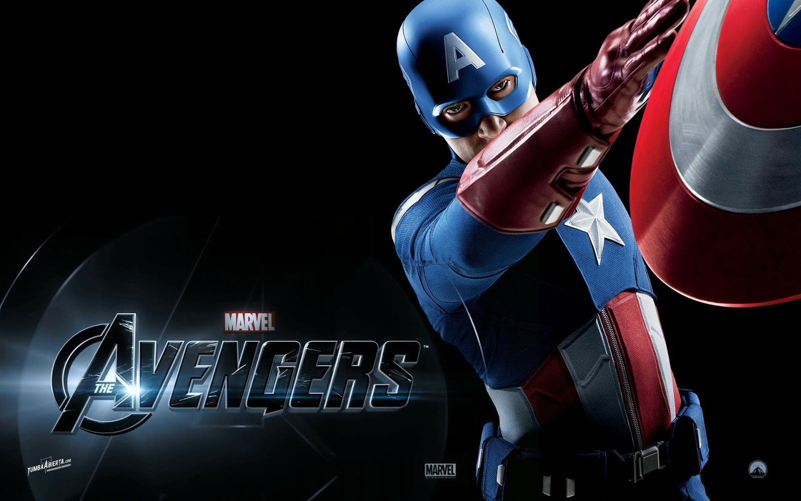 Captain America in Avengers Wallpaper HD