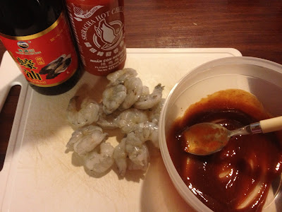 sriracha king prawns ingredients