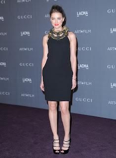 Amber Heard at LACMA Art+Film Gala 2012  red carpet
