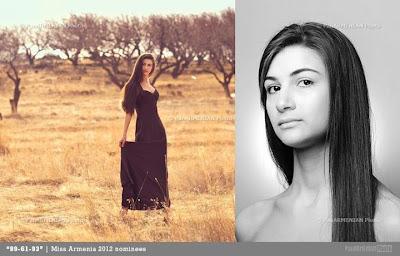 Miss Armenia Hayastan Միսս Հայաստան 2012 Alisa Sahakyan