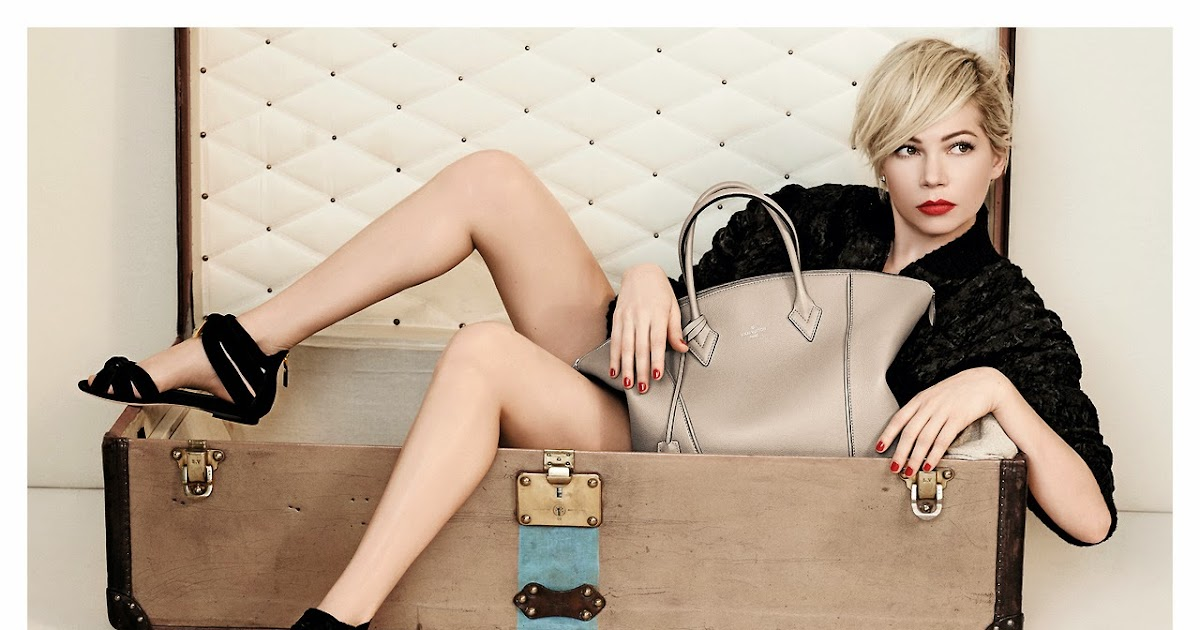 Provocative Woman Michelle Williams For Louis Vuitton