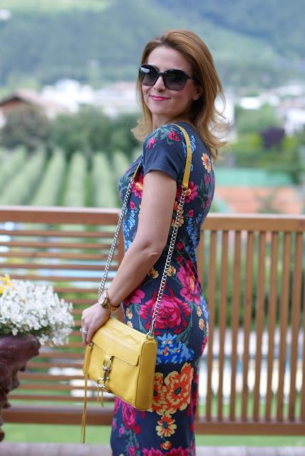 Rebecca Minkoff MAC clutch in yellow, Chanel sunglasses, Fashion and Cookies