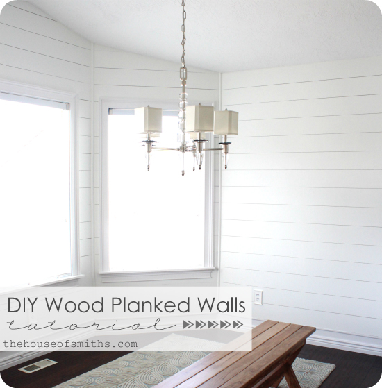 how to planked walls