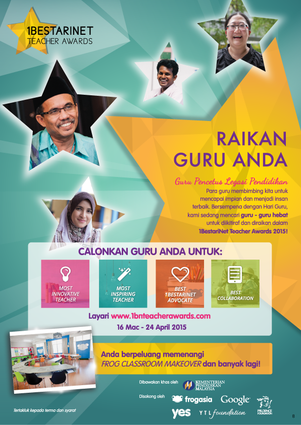 Anugerah 1BestariNet Teacher Awards 2015