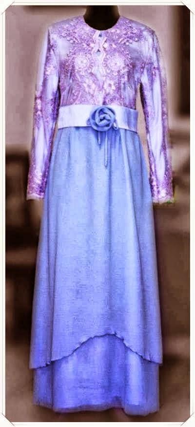 Trend Model Baju Gamis Modern Terbaru 2014