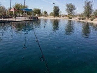 az fisherwoman 1st fishing trip of the season