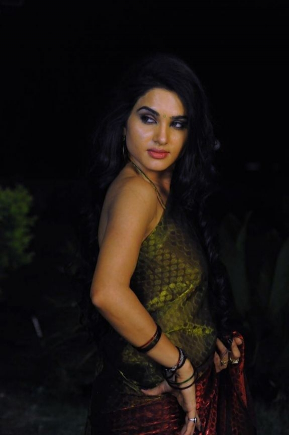 Kavya Singh Hot in Brown Saree Tags Kavya Singh Latest Saree