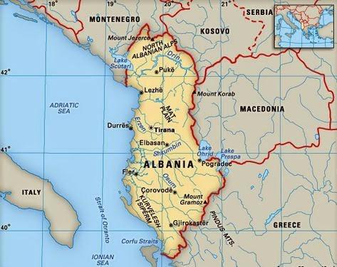 Border crossings of Albania