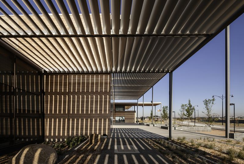 Craigieburn Library by Francis Jones Morehen Thorp architects, Australia