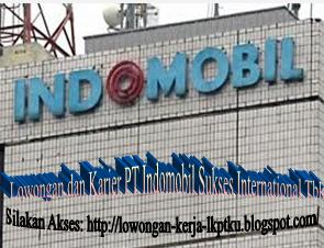 Database Administrator PT Indomobil Sukses International Tbk Jobs and Career December 2012