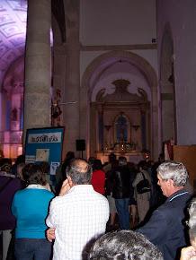 Interior da Igreja Matriz de Azinhaga