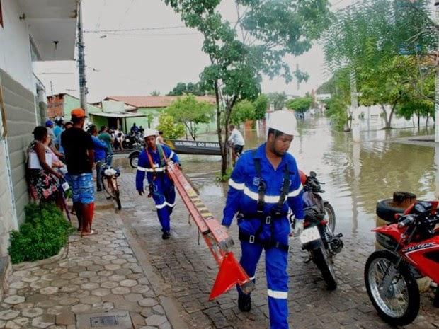 Quantidade de chuva já ultrapassou o esperado para todo o mês (Foto: Ispedito Nunes de Oliveira)