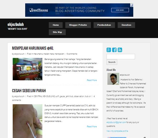 Bukan Semua Template Blogspot Boleh Letak Adsense