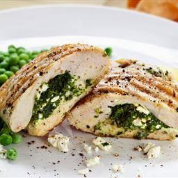 Feta Cheese Stuffed Chicken with Oregano