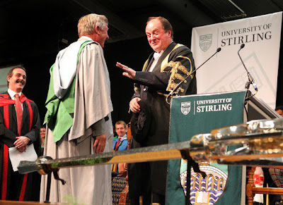 Sir Alex Receives An Honorary Doctorate from University Of Stirling