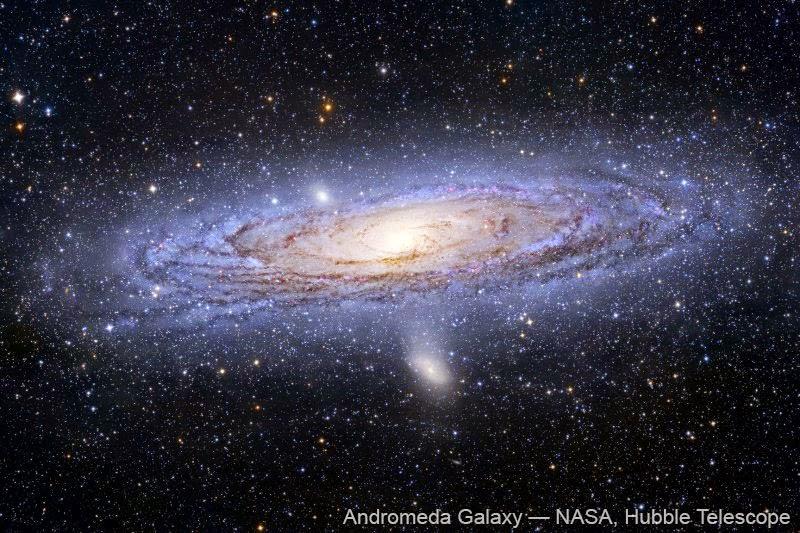 Galaksi Andromeda: Letak dan Karakteristiknya
