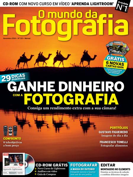 O Mundo da Fotografia Digital � N� 115 Novembro (2014)