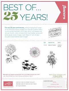 Best of Flowers Stamp Set from Stampin' Up!  Click here for details and to purchase