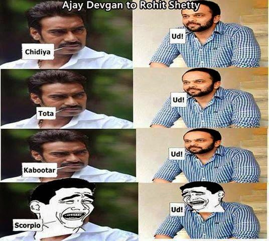 Ajay Devgan to Rohit Shetty - Desi Troll - Desi Unit