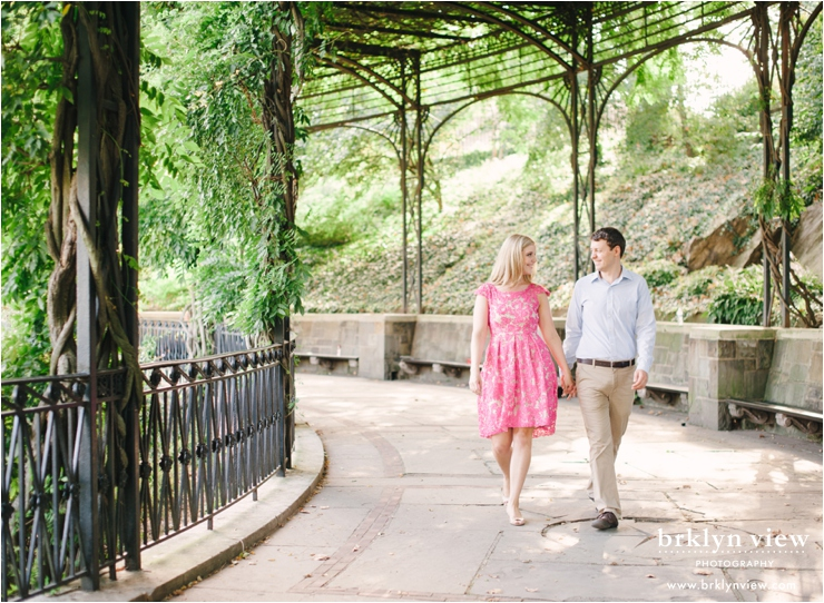 central park conservatory garden engagement session new york wedding photographer - Central Park Conservatory Garden