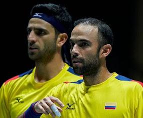 Cabal y Farah lideran nómina colombiana para la Copa Davis