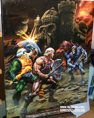 He-man and the Power Sword - Art after Alfredo Alcala by SiMo Sol