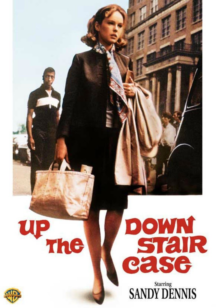 A Vintage Nerd, Classic Film Blog, Old Hollywood Blog, Classic Teacher Movies, Sandy Dennis Movies, Up The Down Staircase