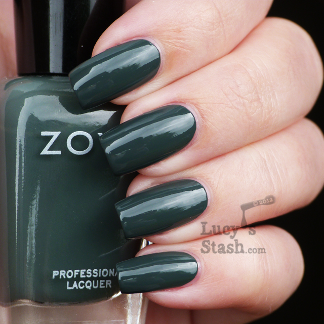 Lucy's Stash - Zoya Designer Collection for Fall 2012 - Evvie