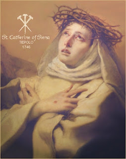 St Catherine of Siena - 4 torments of the damned
